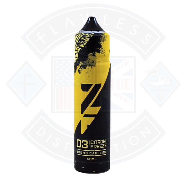 Zap! ZFUEL 03 Citron Freeze 50ml 300mg Caffeine Shortfill E-Liquid
