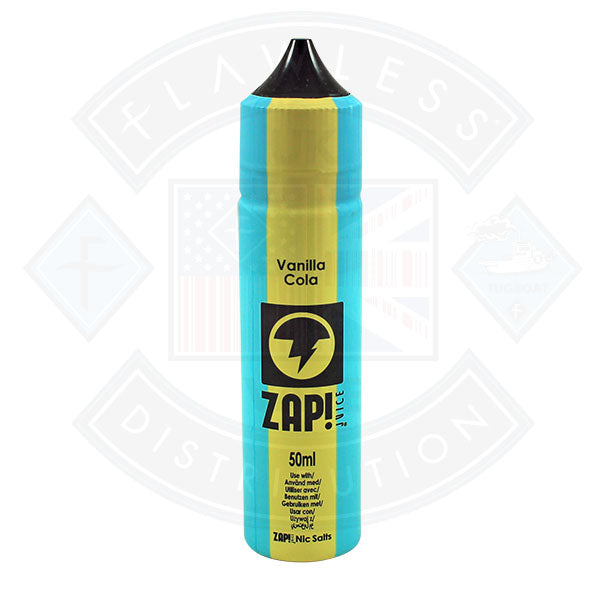 Zap! Vanilla Cola 50ml 0mg Shortfill E-Liquid