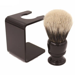 Personal Care (m) - 26mm Knot Black Resin Handle Finest Badger Hair Shaving Brush With Free Acrylic Stand