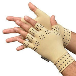 Women Compliments - 1 Pair - Relief Arthritis Pressure Pain Heal Joints Magnetic Therapy Gloves