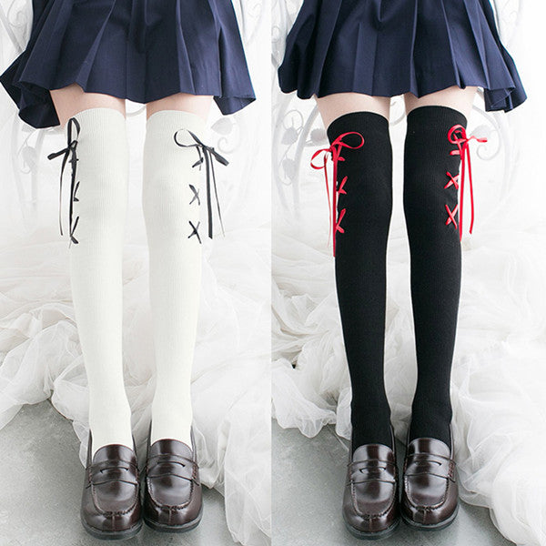 Japanese cute strappy stockings yv42268