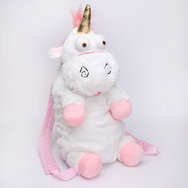 Unicorn plush backpack YV40410