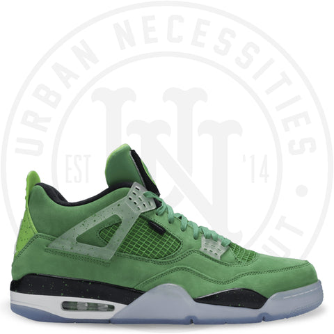 Air Jordan 4 Retro 'Wahlbergers' Apple Green/White -Mean Green-W AJ4-861426-Urban Necessities