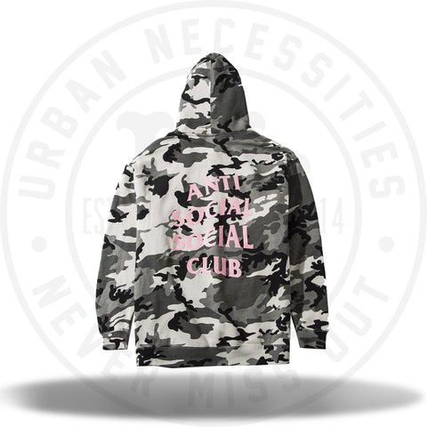 Anti Social Social Club Not Gildan Snow Camo Hoodie-Urban Necessities