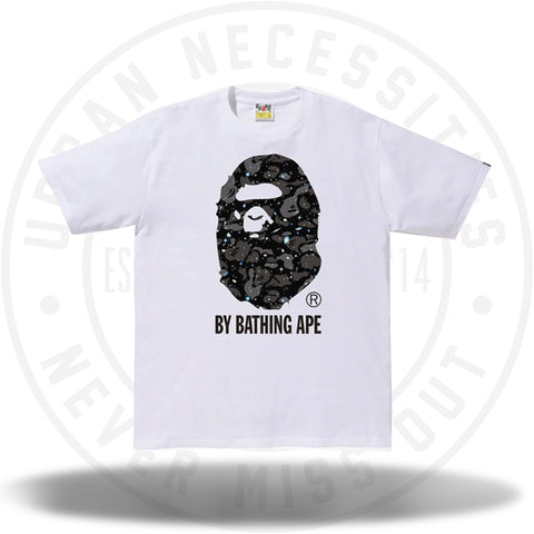 BAPE Space Camo By Bathing Tee (SS19) White-Urban Necessities