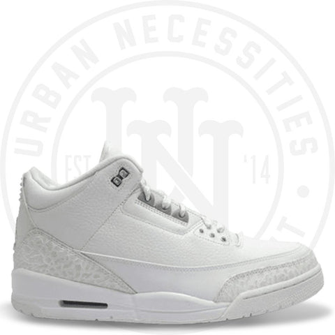 Jordan 3 Retro Pure Money Sample-Urban Necessities