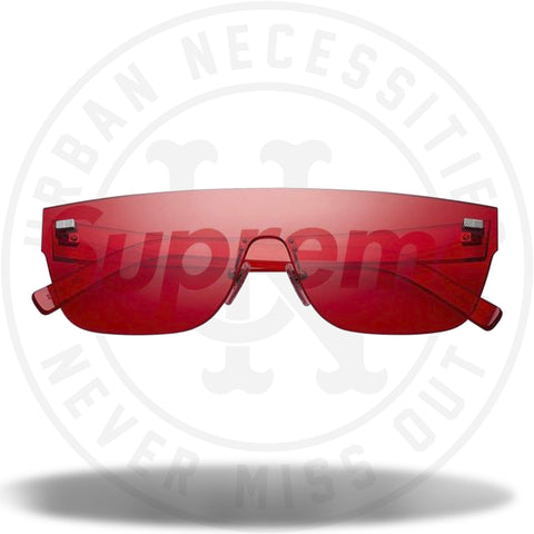 Louis Vuitton Supreme City Mask SP Sunglasses Red-Urban Necessities