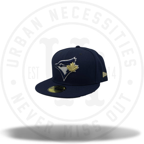 New Era MLB Toronto Blue Jays Navy/Gold Fitted 59Fifty-Urban Necessities