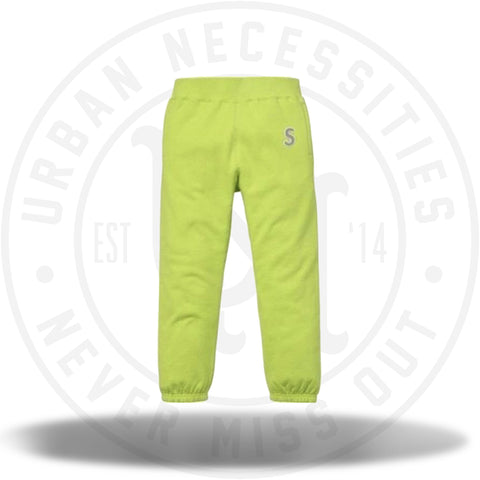Supreme 3M Reflective S Logo Pants Lime Green-Urban Necessities