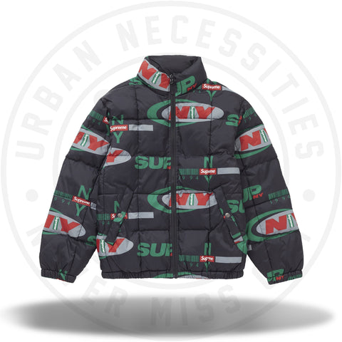 Supreme Supreme NY Reversible Puffy Jacket Black-Urban Necessities