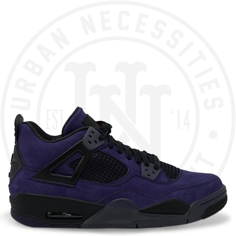 Travis Scott x Air Jordan 4 Retro 'Purple Dynasty / Var Red-Black Su18-Gbjdls 778/882327-Urban Necessities