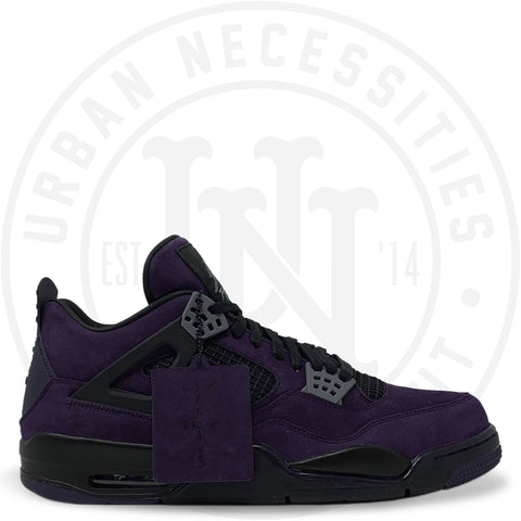 Travis Scott x Air Jordan 4 Retro 'Purple Dynasty V/Red Black' AJ4-7766041-Urban Necessities