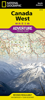 Buy map Canada, West Adventure Map 3113 by National Geographic Maps