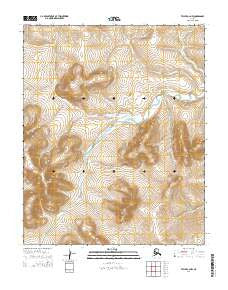 Teller C-2 NW Alaska Current topographic map, 1:25000 scale, 7.5 X 7.5 Minute, Year 2014