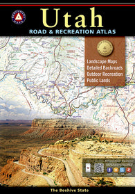 Buy map Utah Road and Recreation Atlas by Benchmark Maps