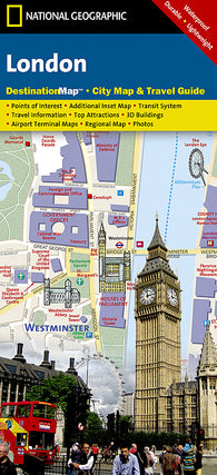 Buy map London, United Kingdom DestinationMap by National Geographic Maps