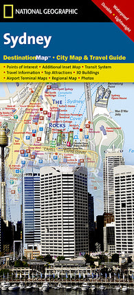 Buy map Sydney, Australia DestinationMap by National Geographic Maps