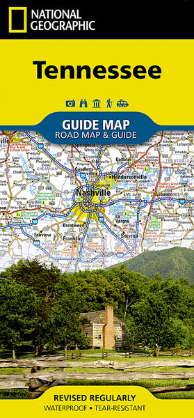 Buy map Tennessee GuideMap by National Geographic Maps