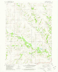 Abingdon Iowa Historical topographic map, 1:24000 scale, 7.5 X 7.5 Minute, Year 1980