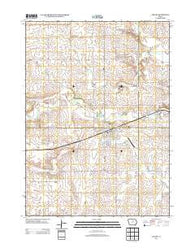 Ackley Iowa Historical topographic map, 1:24000 scale, 7.5 X 7.5 Minute, Year 2013