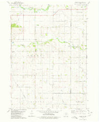 Ackley NE Iowa Historical topographic map, 1:24000 scale, 7.5 X 7.5 Minute, Year 1979