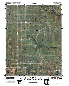 Fort Riley NE Kansas Historical topographic map, 1:24000 scale, 7.5 X 7.5 Minute, Year 2009