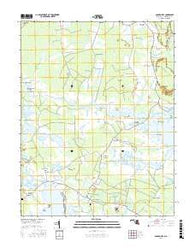 Golden Hill Maryland Current topographic map, 1:24000 scale, 7.5 X 7.5 Minute, Year 2016