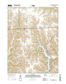 Lake Thunderhead Missouri Current topographic map, 1:24000 scale, 7.5 X 7.5 Minute, Year 2015