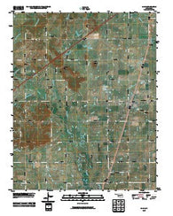 Adair Oklahoma Historical topographic map, 1:24000 scale, 7.5 X 7.5 Minute, Year 2010