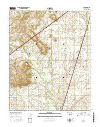 Adair Oklahoma Current topographic map, 1:24000 scale, 7.5 X 7.5 Minute, Year 2016