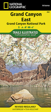 Buy map Grand Canyon, East, Map 262 by National Geographic Maps