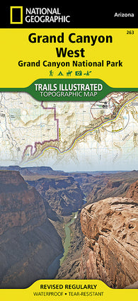 Buy map Grand Canyon, West,  Map 263 by National Geographic Maps