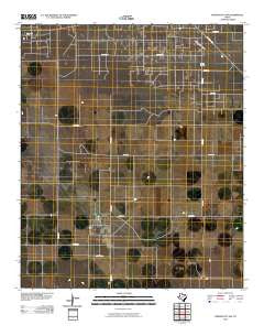 Denver City SW Texas Historical topographic map, 1:24000 scale, 7.5 X 7.5 Minute, Year 2010