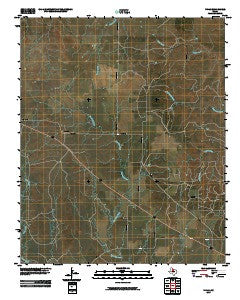 Vivian Texas Historical topographic map, 1:24000 scale, 7.5 X 7.5 Minute, Year 2010
