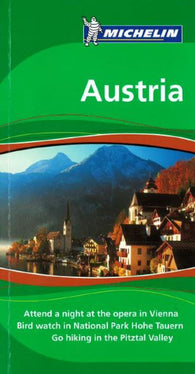 Buy map Austria, Green Guide by Michelin Maps and Guides