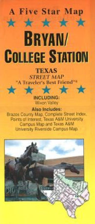 Buy map Bryan and College Station, Texas by Five Star Maps, Inc.