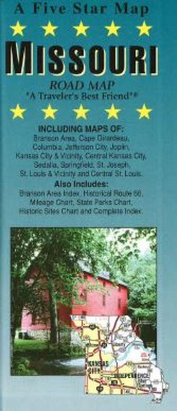 Buy map Missouri by Five Star Maps, Inc.