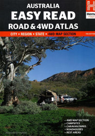 Buy map Australia, Easy Read Road and 4WD Atlas, 11th edition by Hema Maps