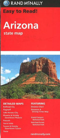 Buy map Arizona by Rand McNally