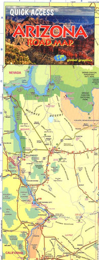 Buy map Arizona, Quick Access Map by Global Graphics