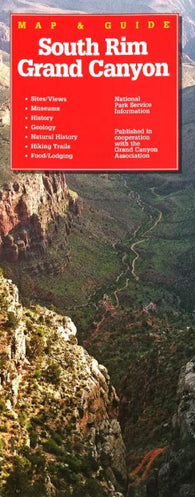 Buy map Grand Canyon, Arizona, South Rim by Rufus Graphics