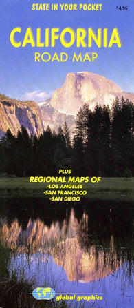 Buy map California Road Map by Global Graphics