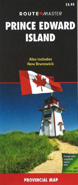 Buy map New Brunswick and Prince Edward Island by Route Master