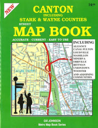 Buy map Canton, Ohio and Vicinity, Atlas by GM Johnson