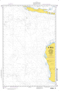 Buy map Australia - West Coast And Jawa, Indonesia (NGA-708-3) by National Geospatial-Intelligence Agency