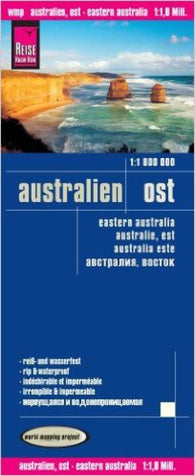 Buy map Australia, Eastern by Reise Know-How Verlag