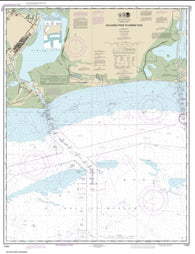 Buy map Calcasieu Pass to Sabine Pass (11341-44) by NOAA