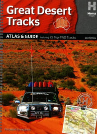 Buy map Australia, Great Desert Tracks, Atlas and Guide, 4th Edition by Hema Maps