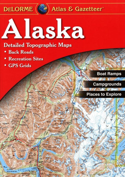 Buy map Alaska Atlas and Gazetteer by DeLorme