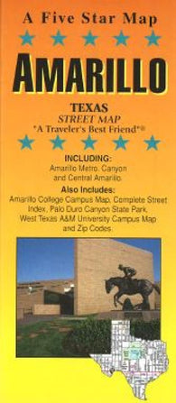 Buy map Amarillo, Texas by Five Star Maps, Inc.